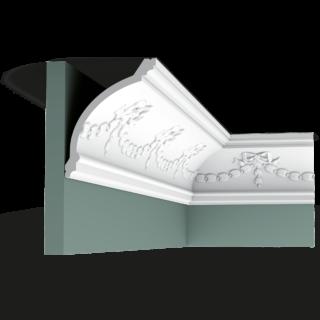 Потолочный плинтус с рисунком